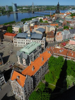 Riga's Old Town (©PW 2011)